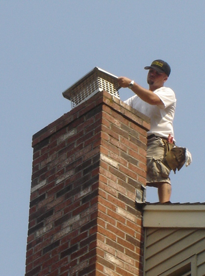 Chimney Cap Installation